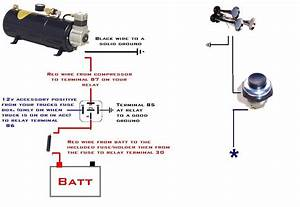 Omega Air Horn Wiring Diagram Omega Train Horn Back Black