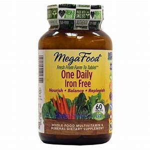 Megafood One Daily Iron Free Multivitamin 60 Tablets
