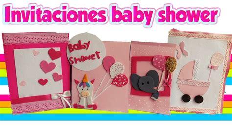 COMO HACER INVITACIONES BABY SHOWER NIÑA 🌸 DIY CRAFTS