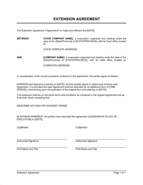 5 [pdf] CONTRACT LETTER EXTENSION SAMPLE PRINTABLE DOCX DOWNLOAD - * ContractLetter