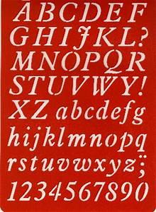 Buchstaben Schablone Metall : buchstaben schablone abc kursivschrift kreativ depot ~ Frokenaadalensverden.com Haus und Dekorationen