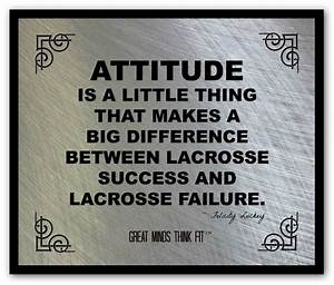 Lacrosse Quotes... Good Lax Goalie Quotes