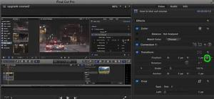 How to do a digital zoom in Final Cut Pro X of Tokyo ...