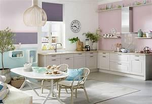 Küche Shabby Chic : verspielte k che im shabby chic mit wei en rahmenfronten ~ Michelbontemps.com Haus und Dekorationen
