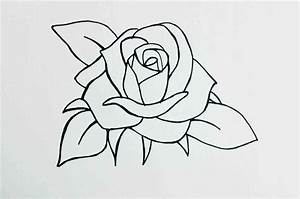 Pictures: How To Draw A Rose Youtube, - DRAWING ART GALLERY