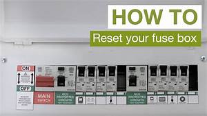 How To  Reset Your Fuse Box