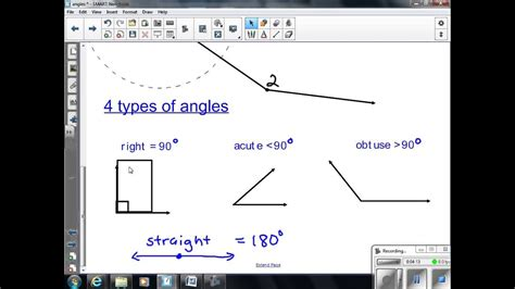angles lesson   grade math youtube