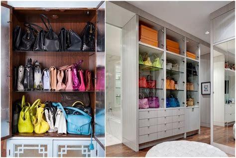 Storage Ideas by Handbag Storage Ideas Homesfeed