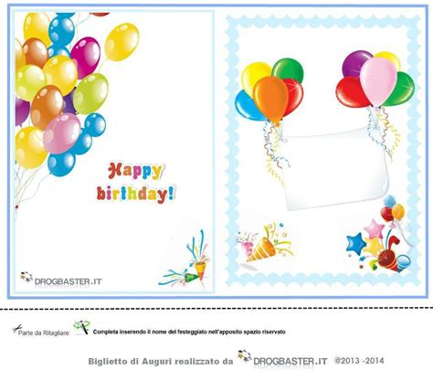 clipart compleanno bambini biglietti gratis compleanno sta il biglietto d auguri