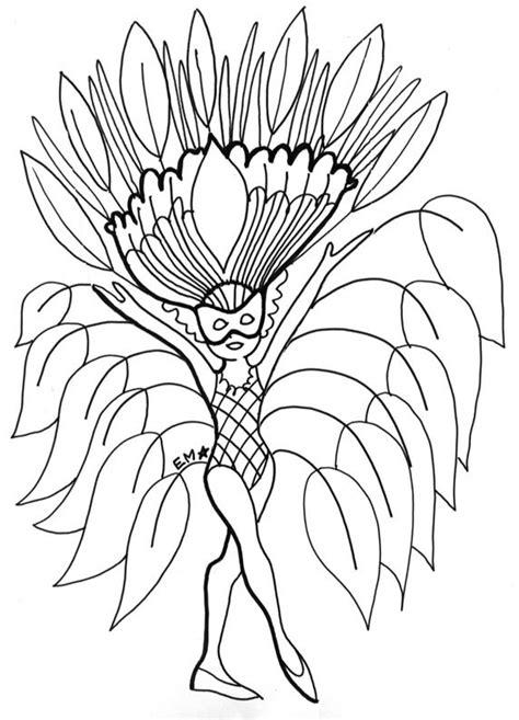 disfraz de hojas dibujalia dibujos  colorear carnaval disfraz de hojas