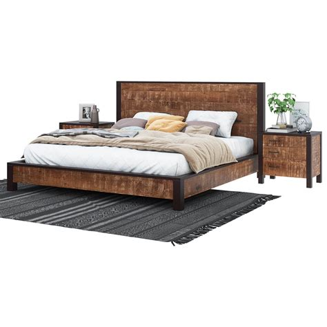 Bed Frame For And Footboard by New Orleans Solid Wood Platform Bed Frame W Headboard And