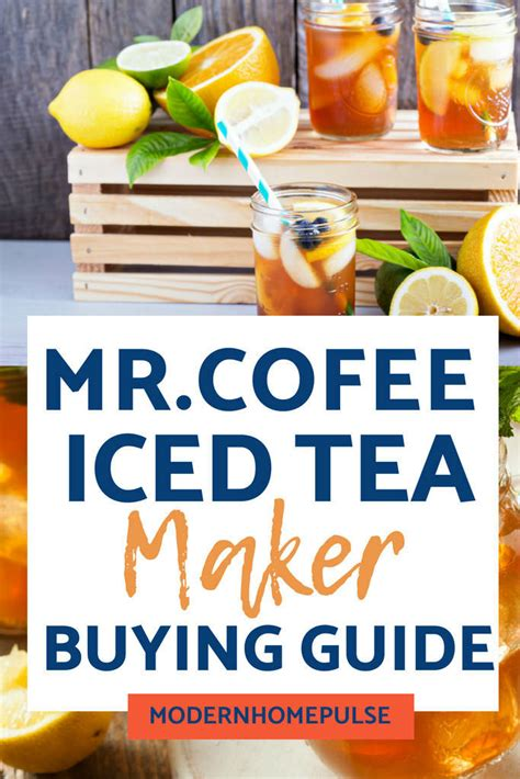 Just milk and syrup for an afternoon surprise. Use Mr. Coffee Iced Tea Making Machine For Quick & Easy Drinks » Modern Home Pulse