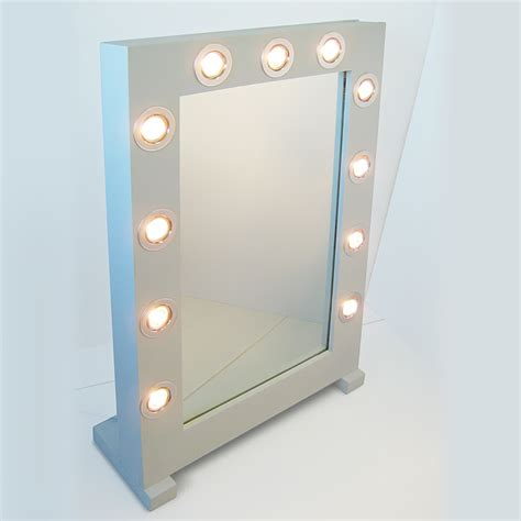 makeup wall mirror with lights lighting and ceiling fans