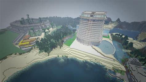 hilton hotel isla nublar minecraft project