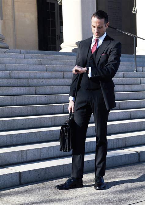 black suit fashion ideas  men
