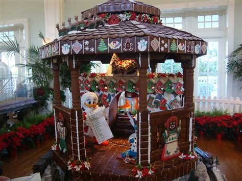 Gingerbread House At Disney's Boardwalk Resort And Hotel