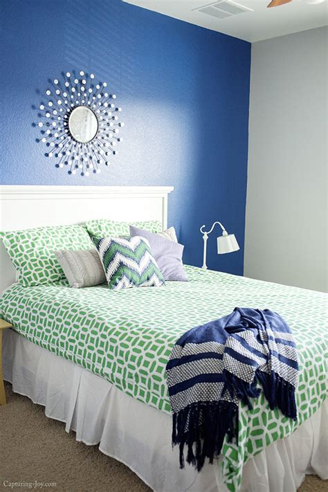 guest room makeover in progress with sherwin williams capturing with kristen duke