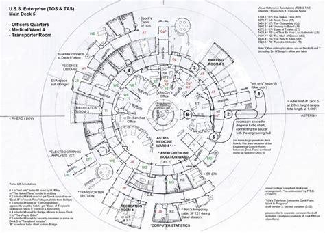 starship deck plans trek 162 best images about trek u s s enterprise ncc