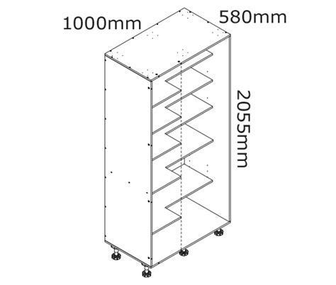 1000mm Blind Corner Pantry Cabinet   kaboodle kitchen