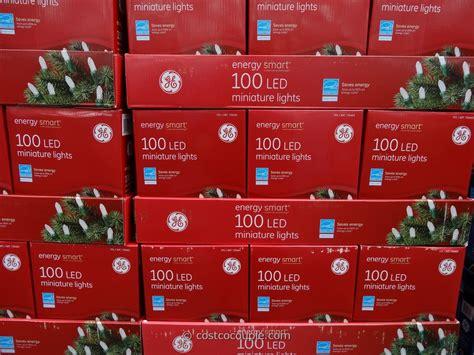 ge energy smart mini white 100 led lights