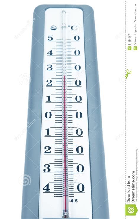 Thermometer Isolated Stock Image Image Of Isolated, Macro