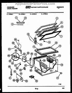Parts For Frigidaire Cf5nl2  Chest Freezer Parts