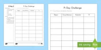 Pi Day Worksheets, Circumference