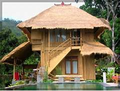 Modern Bamboo House Blueprints Modern Bamboo House Concept With Bungalow Modern Bamboo Houses