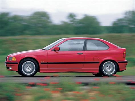Bmw 3-series E36 Range Of Body Types