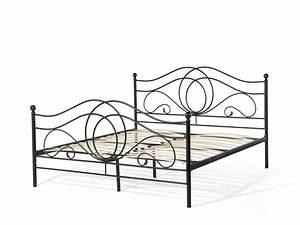 Bett 80x200 Metall : metallbett mit lattenrost lattenrahmen 160x200 180x200 schwarz g nstig supply24 ~ Indierocktalk.com Haus und Dekorationen