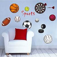 great sports wall decals Top 24 Room Decals