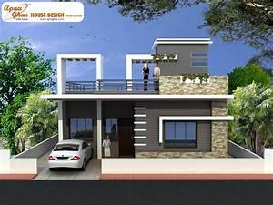 2, Bedroom, Simplex, 1, Floor, House, Design, Area, 156m2, 12m