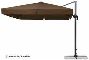 Ampelschirm 3m excellent ampelschirm m with ampelschirm for Französischer balkon mit gastro sonnenschirme 4x4