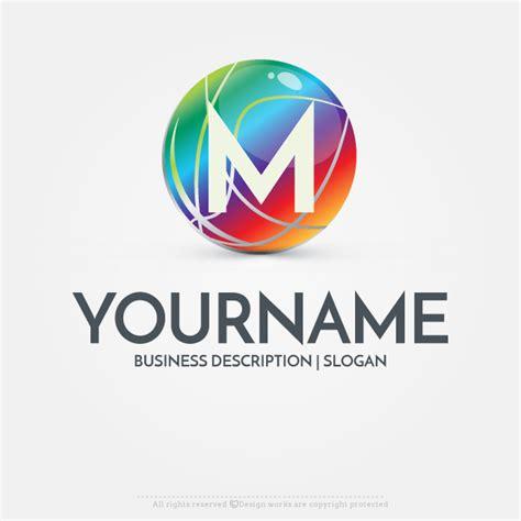 online free logo maker ready made 3d globe logo design