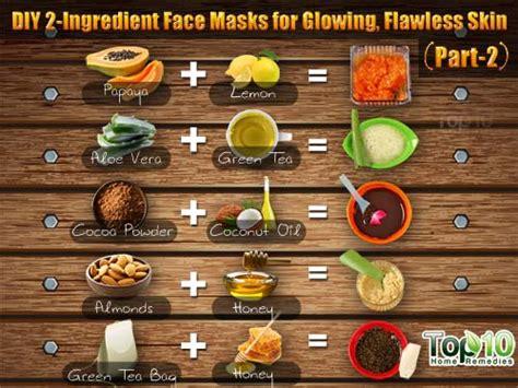 diy  ingredient face masks  glowing flawless skin