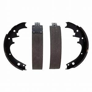 Wagner® - Ford Mustang 1968-1969 ThermoQuiet™ Drum Brake Shoes