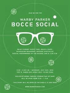 Bocce Ball Invitation