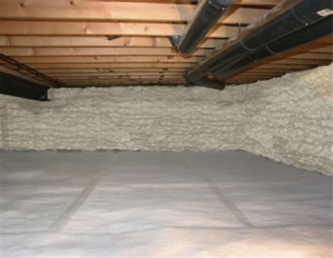 Spray Foam Insulation Crawl Space Dirt Floor by Insulating Dirt Floor Crawl Space Basement