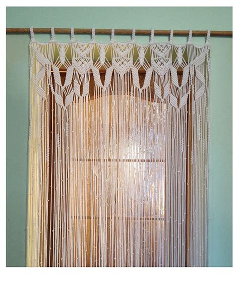 rideau macramé cuisine rideau en macramé fait à la rideau en macramé tenture