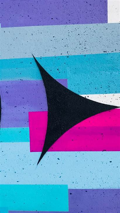 Teal Purple Iphone Street Wallpapers