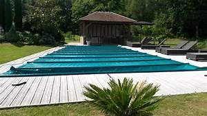 Bache A Barre Pour Piscine : b che pour piscine bache bourgoin ~ Nature-et-papiers.com Idées de Décoration