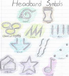 Naruto: Headband Symbols by sakuradbzgirl15 on DeviantArt