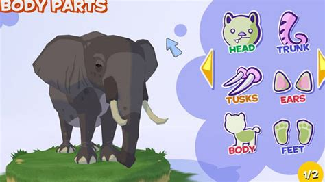 zoo elephant bush