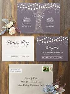 6 winter wedding invitation suite ideas 2 weddings eve for Wedding invitation suite what to include