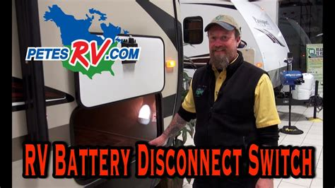 rv battery disconnect switch petes rv