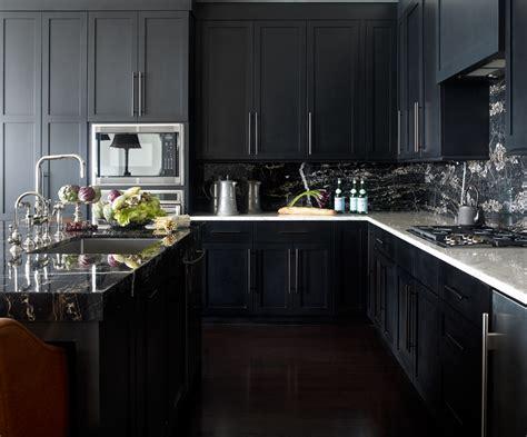 Black Cupboards Kitchen Ideas by 30 Best Black Kitchen Cabinets Kitchen Design Ideas With