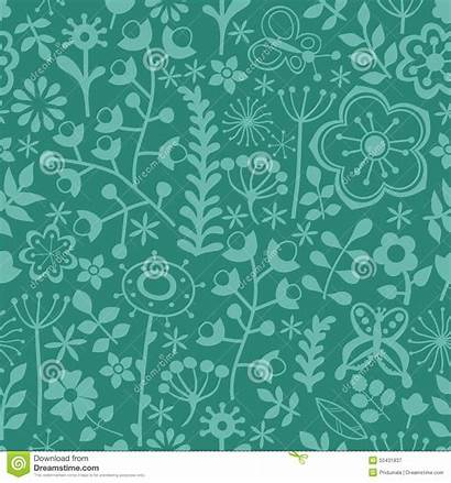 Abstract Wrapping Seamless Texture Theme Floral Flowers