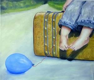 Einverständniserklärung Reise Kind : bild reise kind koffer luftballon von artep petra bei kunstnet ~ Themetempest.com Abrechnung