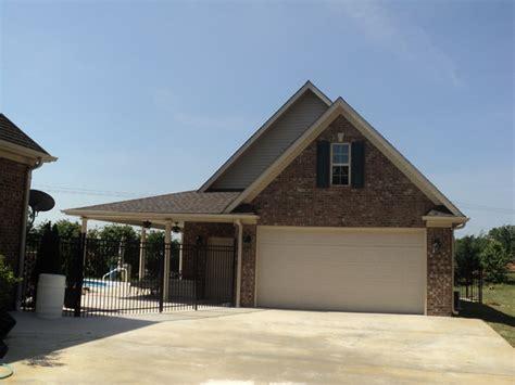 Custom Garage And Pool House