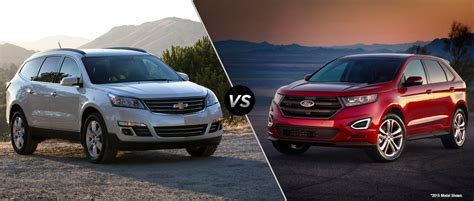 Ford Edge Compared To Chevy Traverse